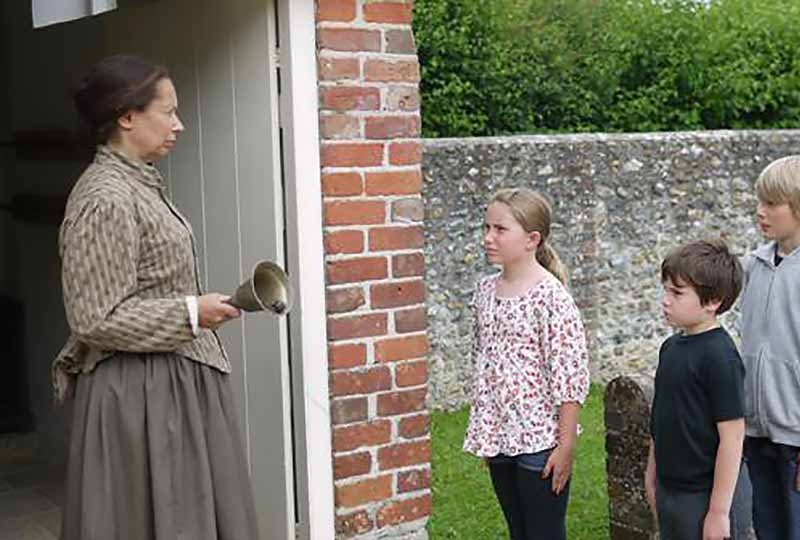Victorian school teacher