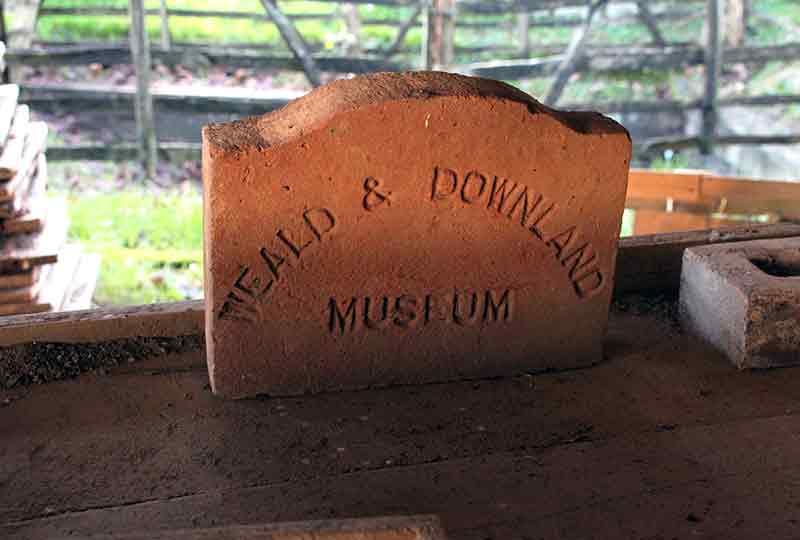 Weald & Downland Museum brick