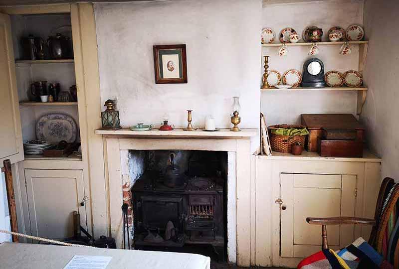 Whittaker's Cottage interior