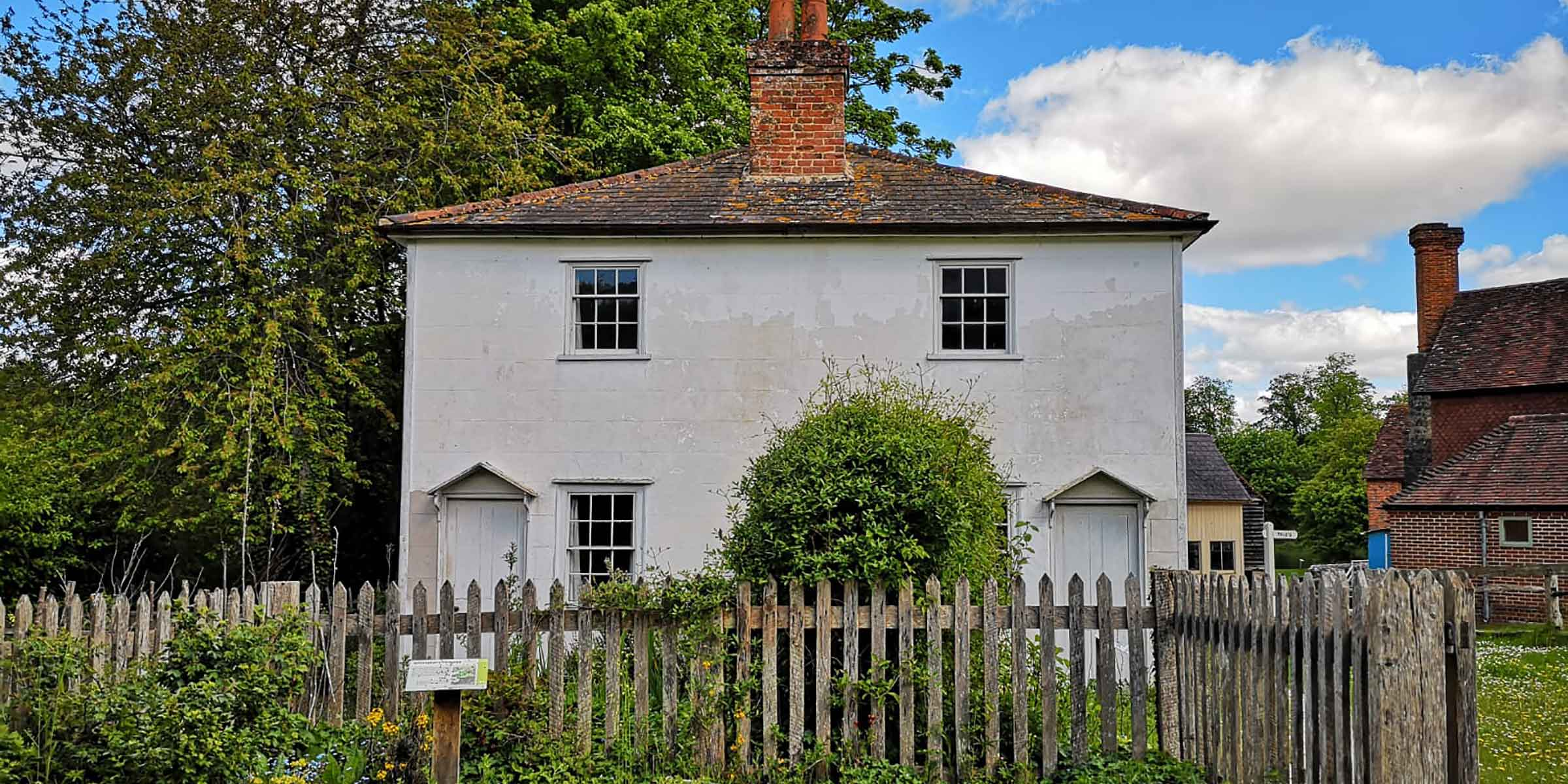 Whittakers Cottages from Ashtead, Surrey