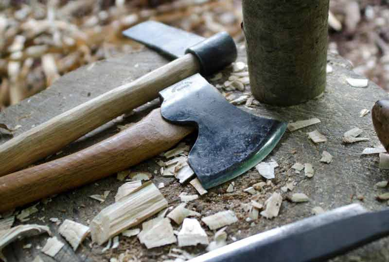 Axe and other woodworking tools