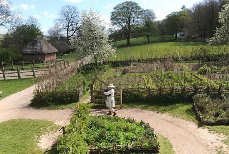 Bayleaf farmstead garden
