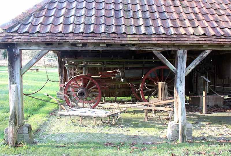 Cart shed