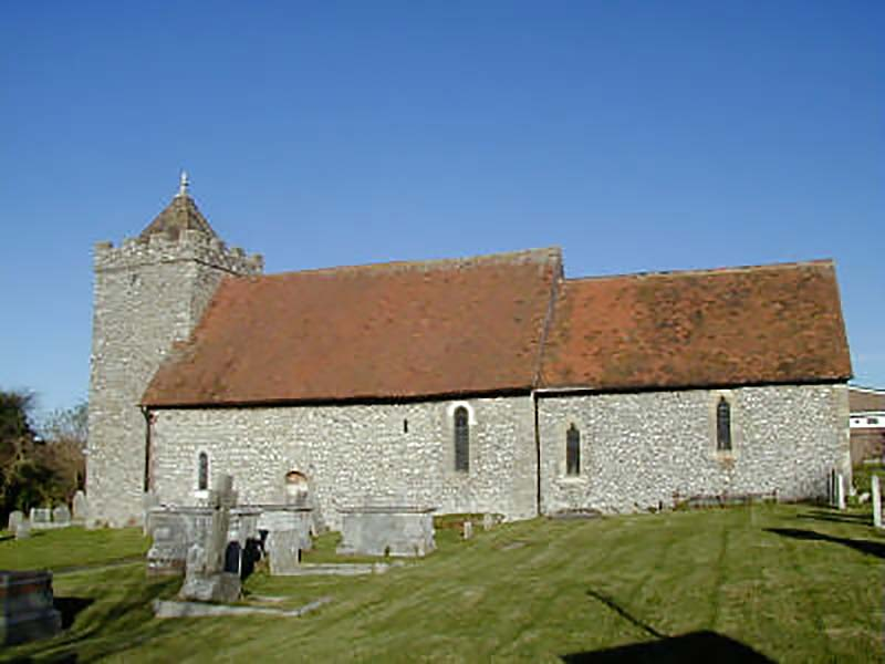Medieval church of St Helen's, Hangleton