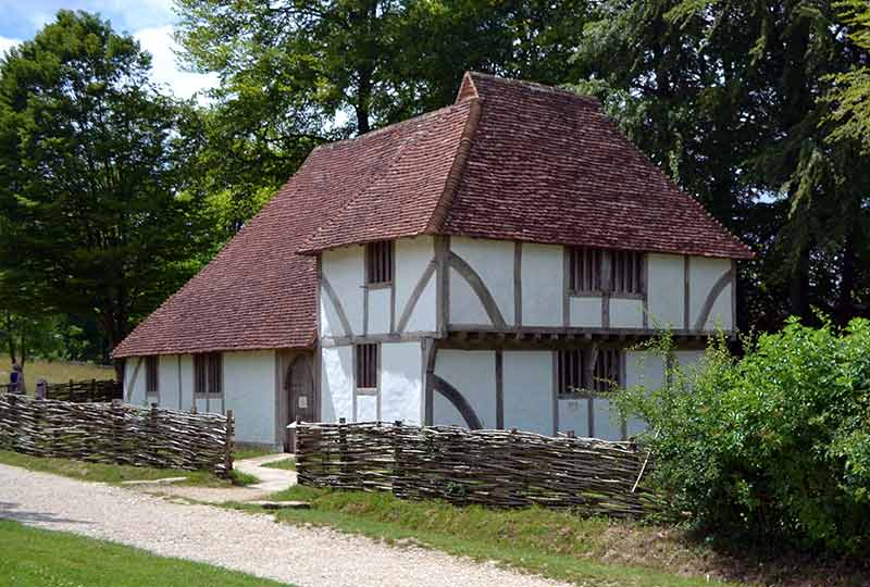 Medieval house from Sole Street