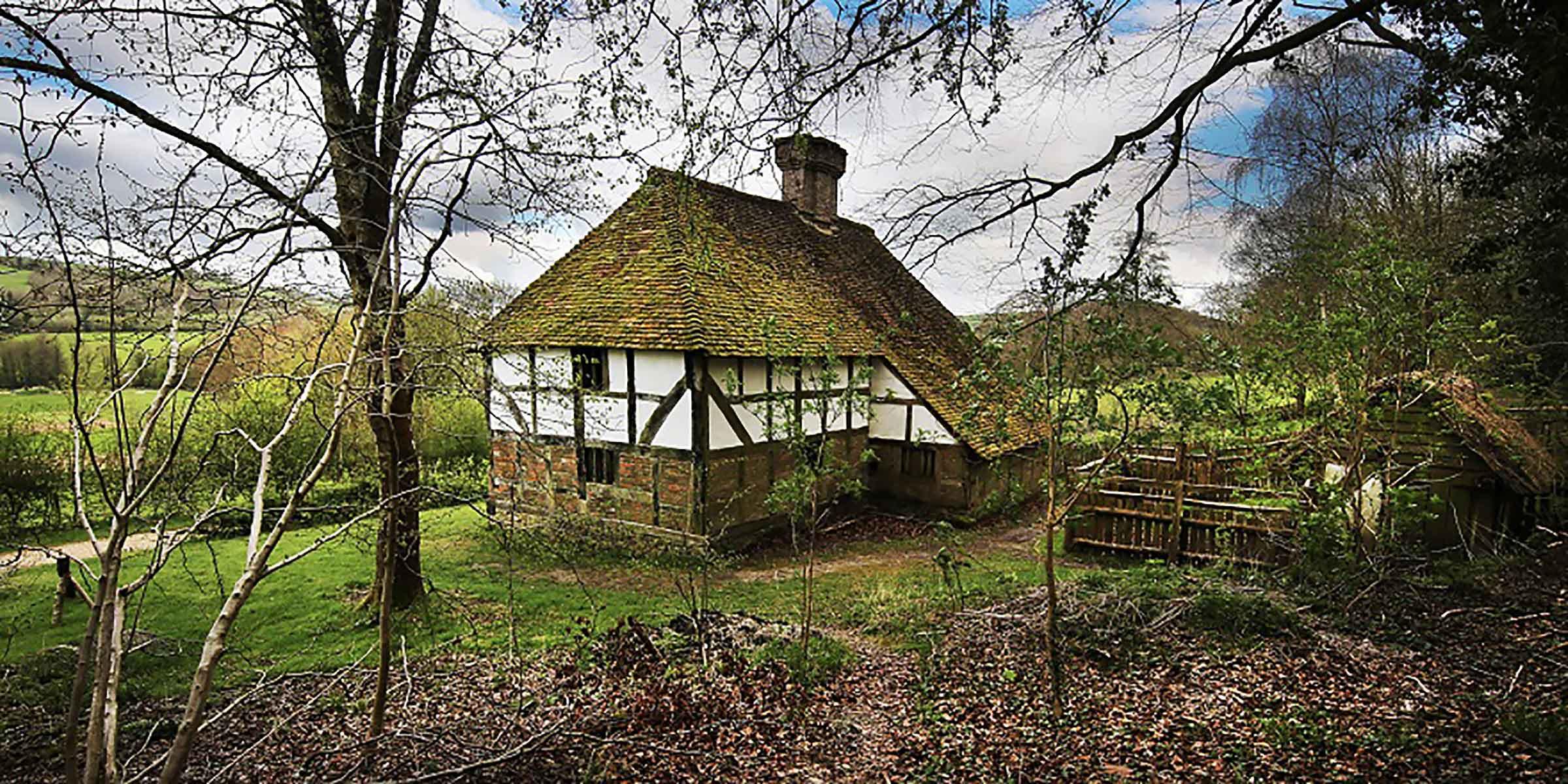 Pendean Farmhouse from Midhurst
