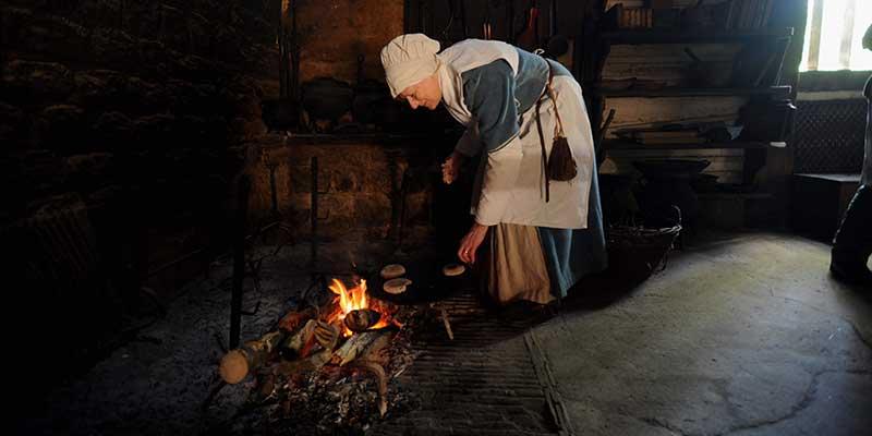 Preparing the fire