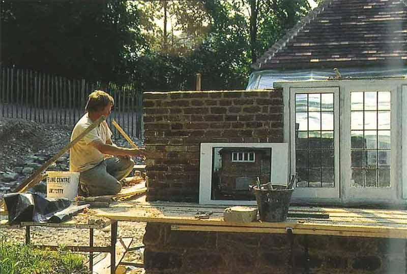 Reconstructing Longport Farmhouse