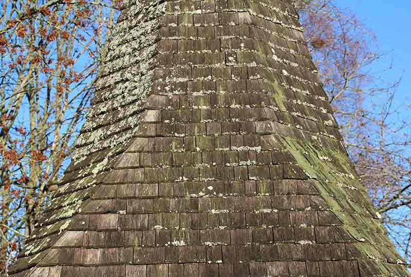 Stoughton spire oak shingling