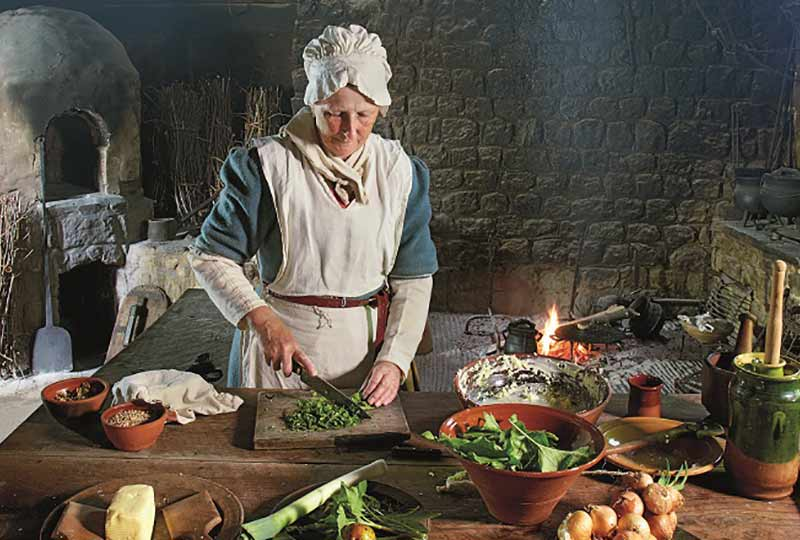 Tudor kitchen interpretation