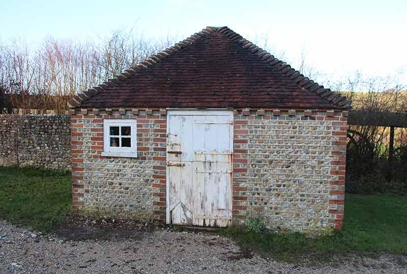 Victorian school stable