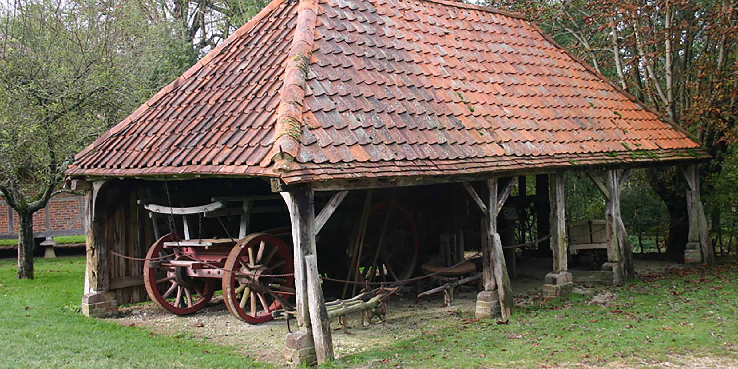 Wagon shed from Wiston