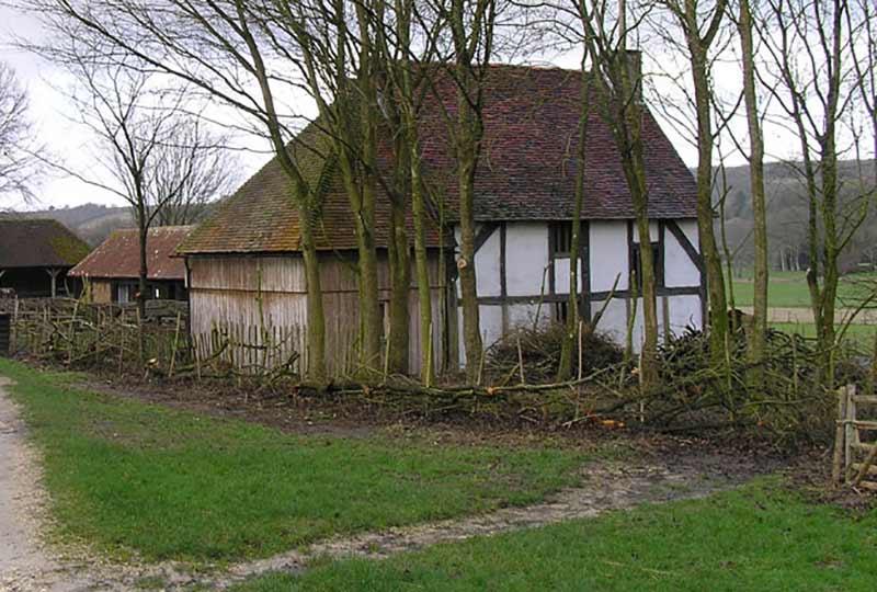Winkhurst Tudor Kitchen from Sundridge