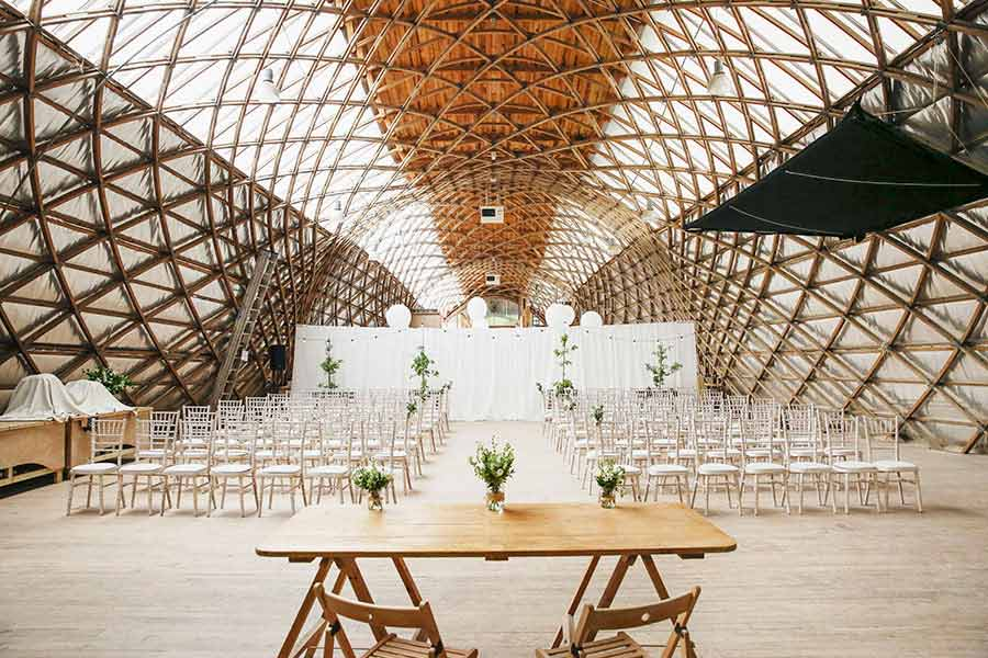 Weald & Downland Museum as a wedding venue (photo by VLA Photography)