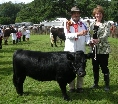Cattle Dexter prize giving