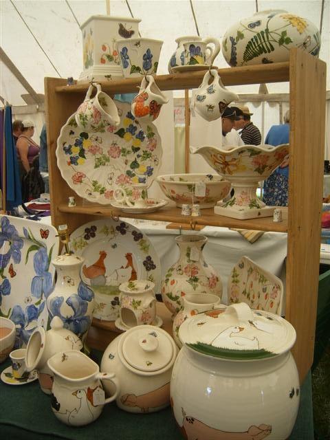 Craft exhibitor