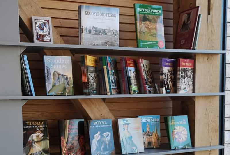 Museum gift shop books
