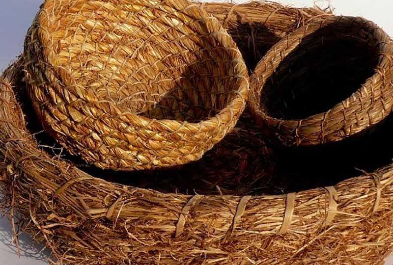 Grass baskets