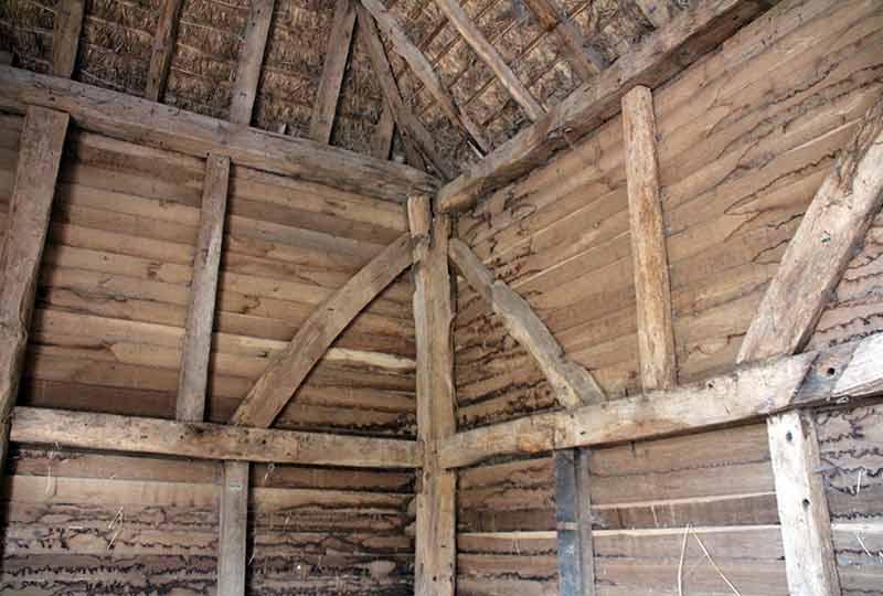 Historic timber framed building