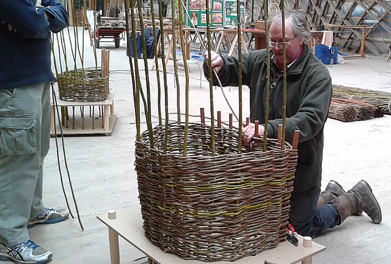 Living willow chair course