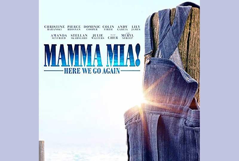 Mamma Mia 2 open air cinema event