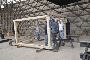 Oak timber framing