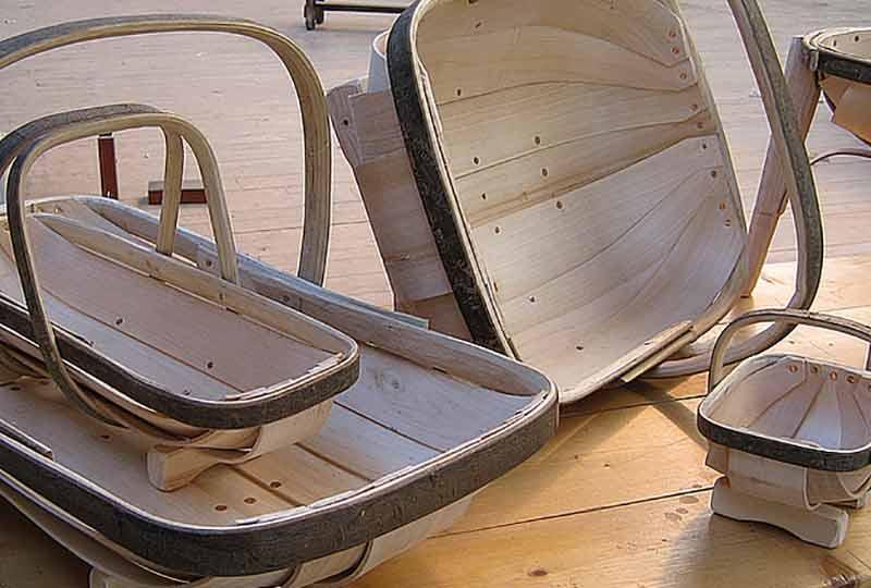 Sussex Trug basket making