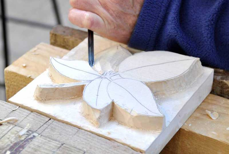 Woodcarving weekend course