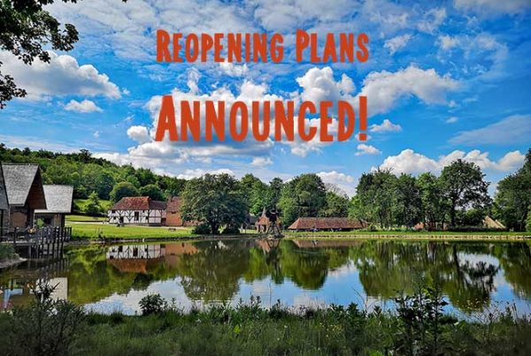 Reopening image of site across mill pond