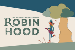 Robin Hood promotional image for outdoor theatre