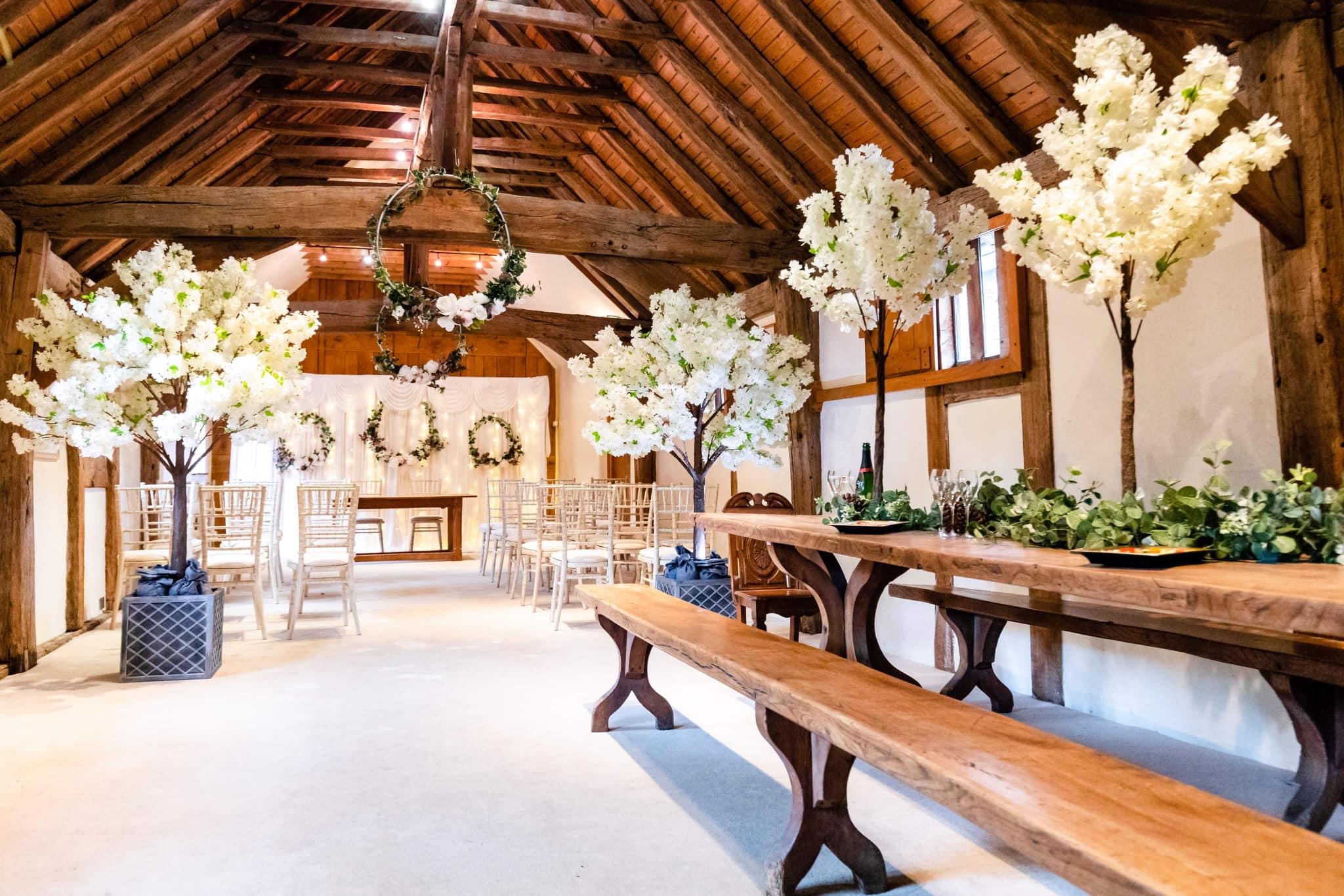 Crawley Hall wedding