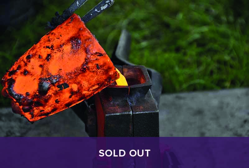 Sold Out - Bronze Axe Casting
