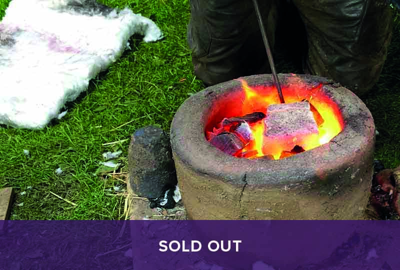 Sold Out - Copper Smelting and Bronze Axe Casting course