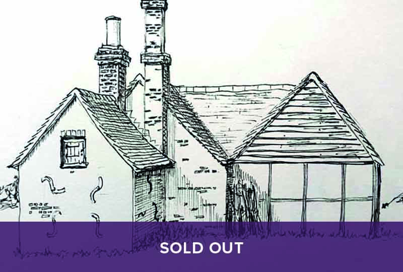 Sold Out - Drawing Buildings in Pen & Ink