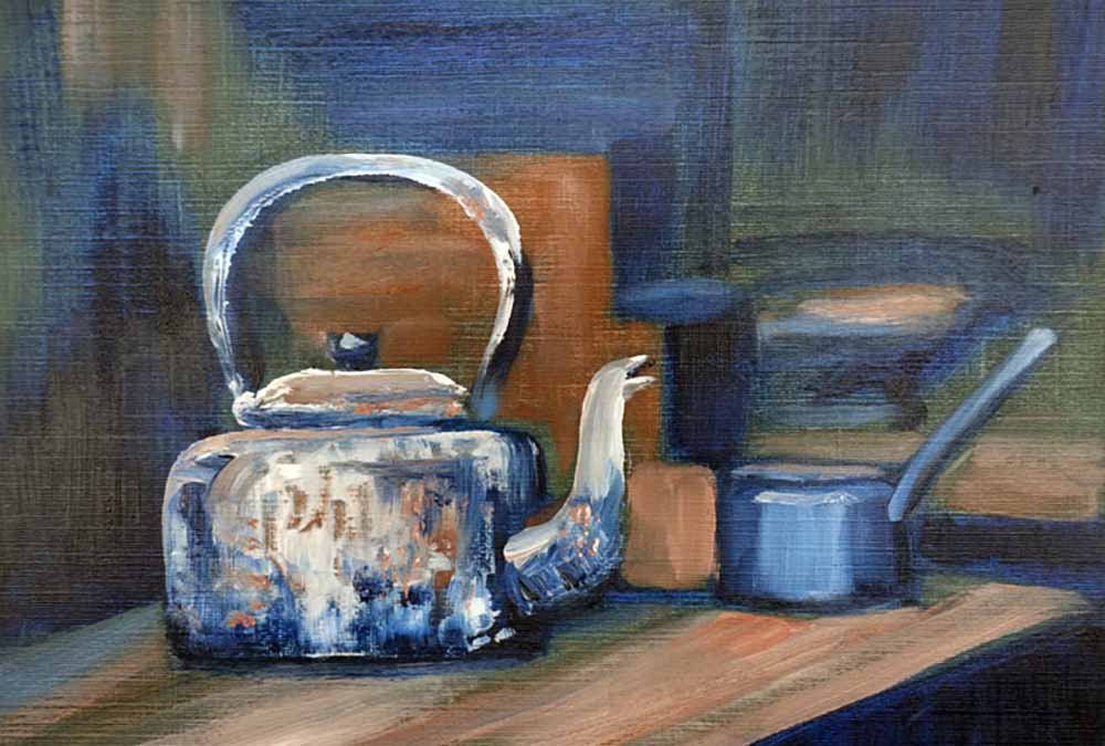 Inspired by Museum Artefacts: Oils