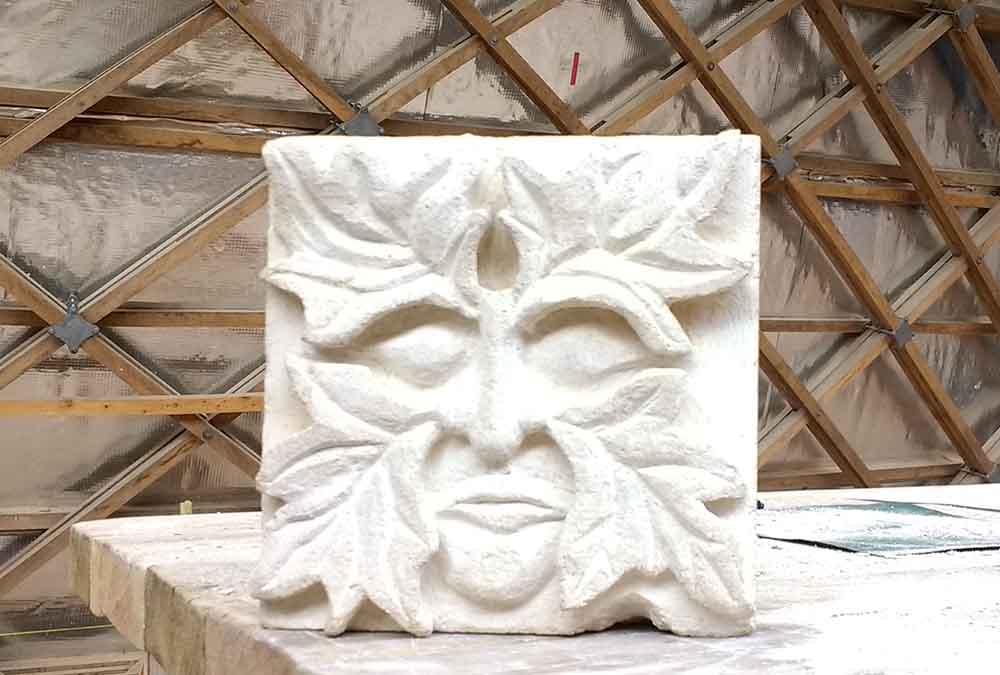 Stone carving green man 10000x675