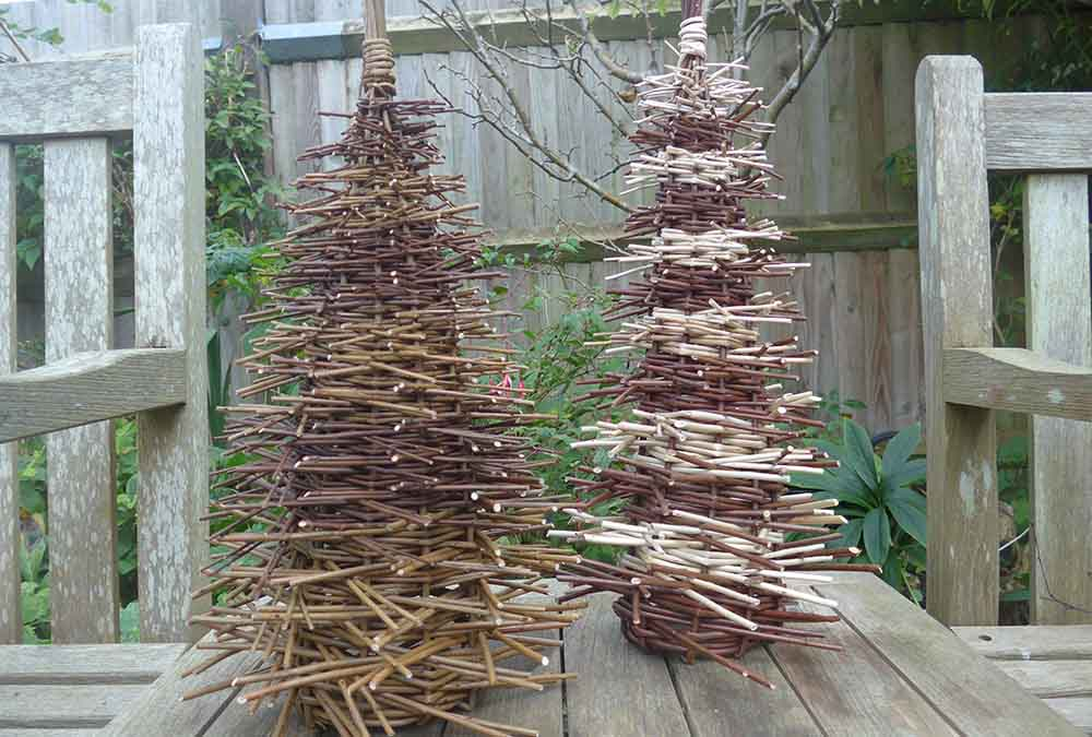 Willow Christmas trees