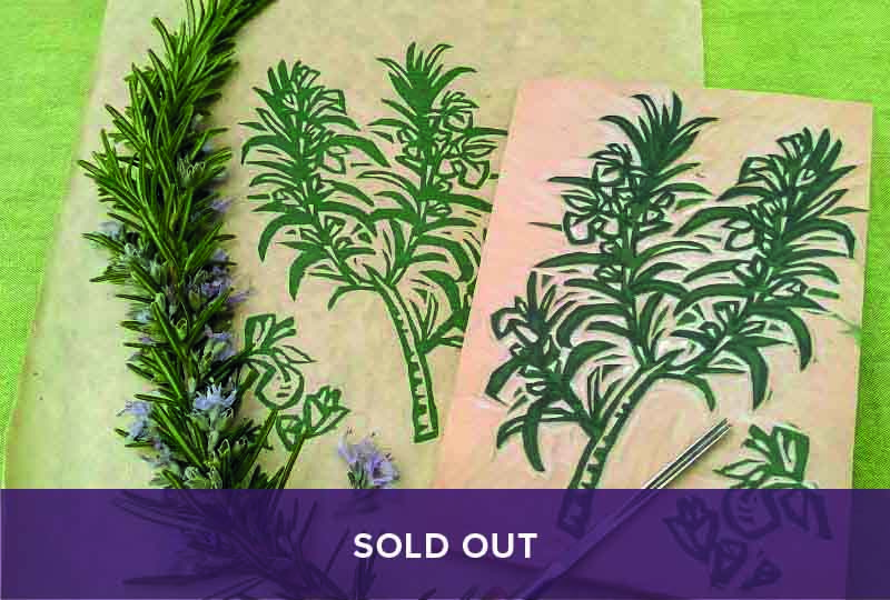 Sold out - herbal woodcut course