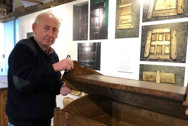 Roger Champion at Just Champion exhibition in 2019