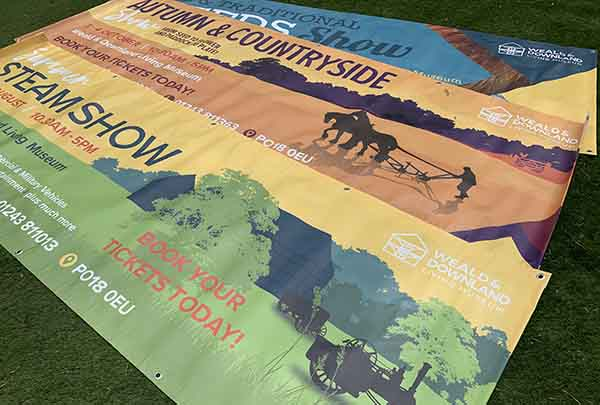 Banners upcycling