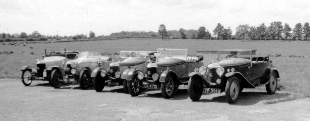 Vintage ACs at ACOC Concours Bovingdon