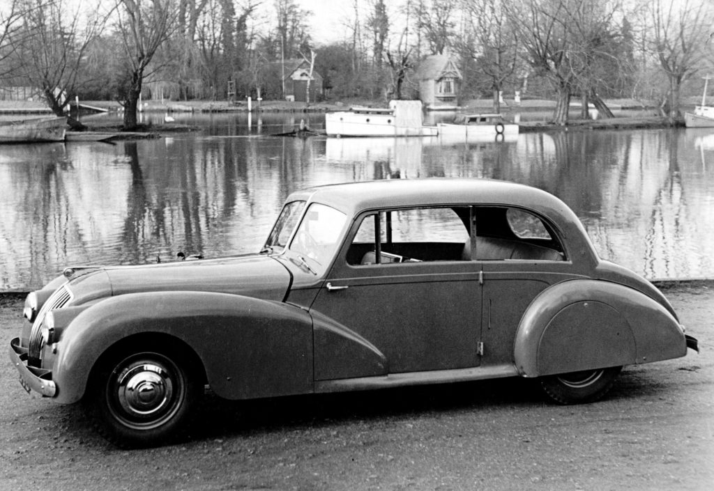Prototype AC Two-Litre Saloon 1947 Photo courtesy AC Cars Ltd