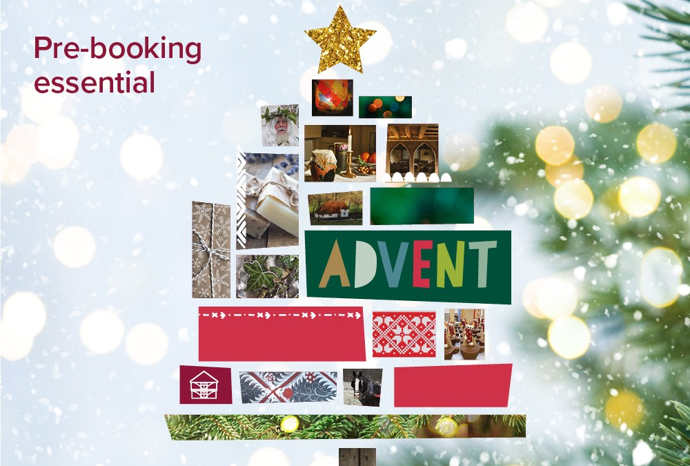 Advent campaign image with Christmas Tree